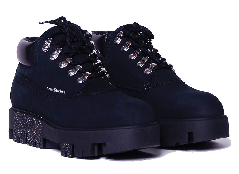 ACNE STUDIOS TINNE LACE UP BOOT