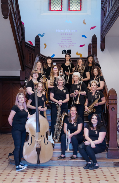 The All Girl Big Band