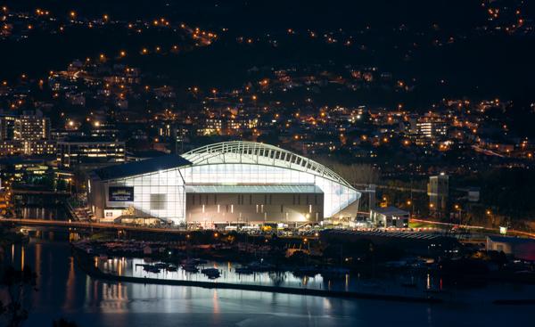 Forsyth Barr Stadium, photos courtesy of Dunedin Venues
