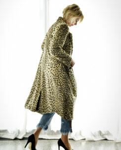 TRELISE COOPER, Leopard coat, $799
