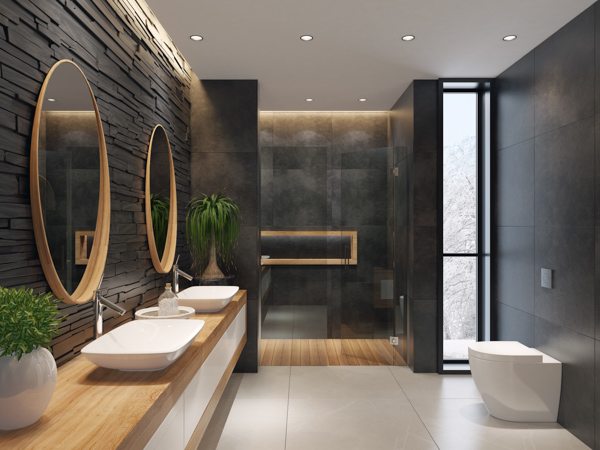 Bold Black Bathrooms Metropol, Images Of Black Bathrooms